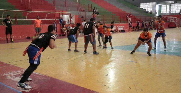 Prefeitura de Caruaru realiza o 1º Camp Internacional de Flag Football