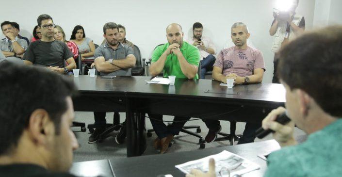 Prefeitura de Caruaru apresenta aos feirantes projeto do Polo Gastronômico do Parque 18 de Maio