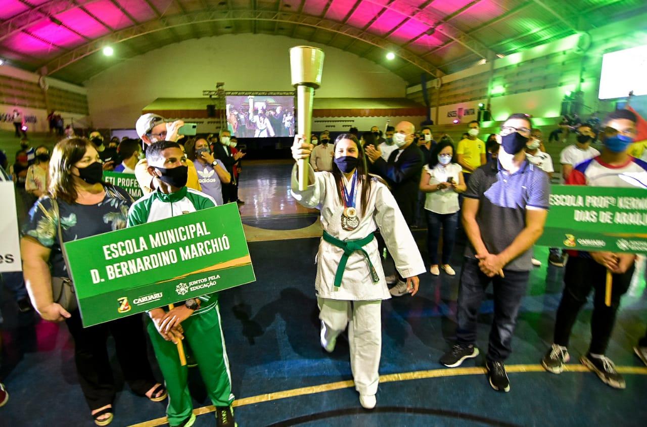 Prefeitura de Caruaru dá início aos XIX Jogos Escolares Municipais e aos VII Jogos Universitários – 2021